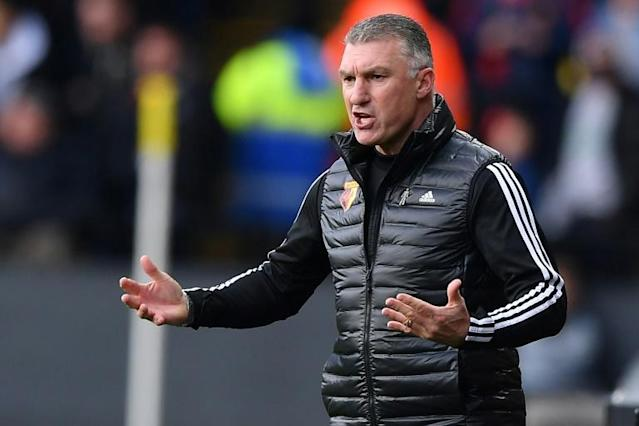 Fatality fears - Watford manager Nigel Pearson is worried about the Premier League resuming amid the coronavirus (AFP Photo/DANIEL LEAL-OLIVAS)