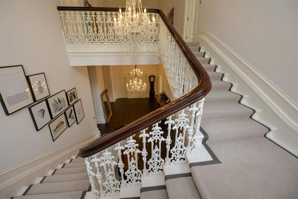 The staircase is a Victorian original. (Rightmove)