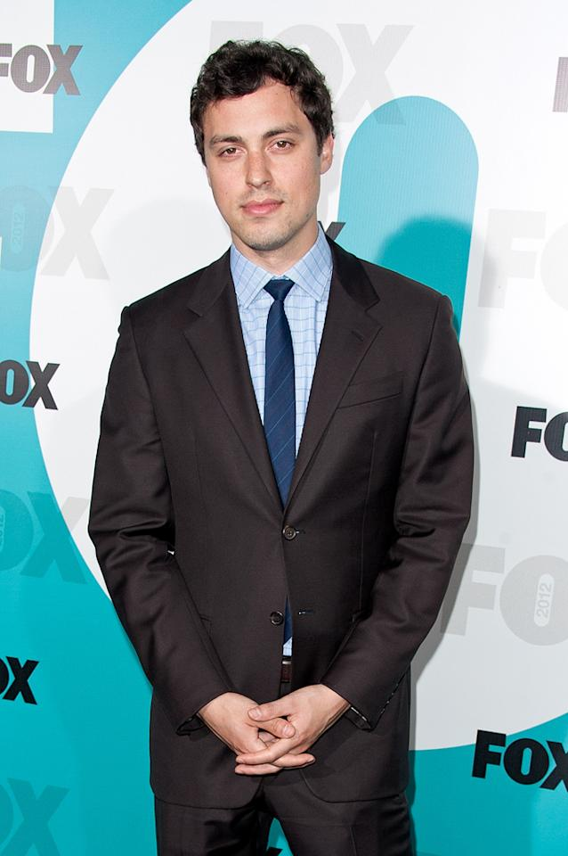 "John Francis Daley (""Bones"") attends the Fox 2012 Upfronts Post-Show Party on May 14, 2012 in New York City."