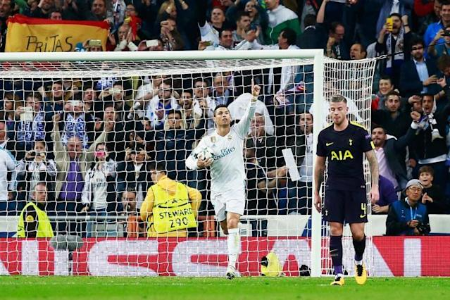 Cristiano Ronaldo's remarkable goal record makes grim reading for Tottenham ahead of Real Madrid clash