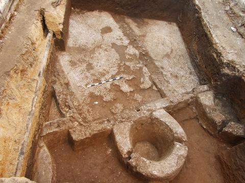 Ancient Wine Press Possibly Found Under Tel Aviv City Street