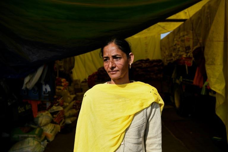Parminder Kaur says she is proud women and men are fighting against the government's agricultural market reform laws alongside each other