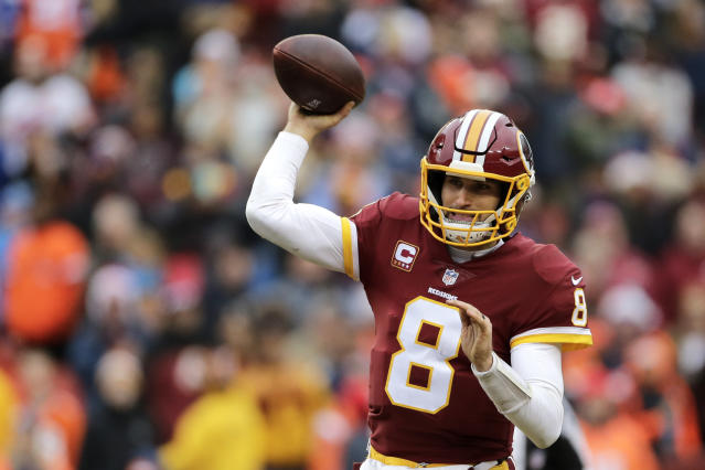 Quarterback Kirk Cousins will reportedly sign with the Vikings on Thursday. (AP)