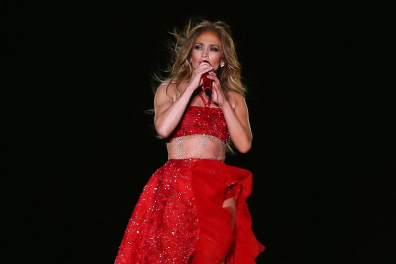 Jennifer Lopez Wears Extremely Bedazzled Boots on Her 'It's