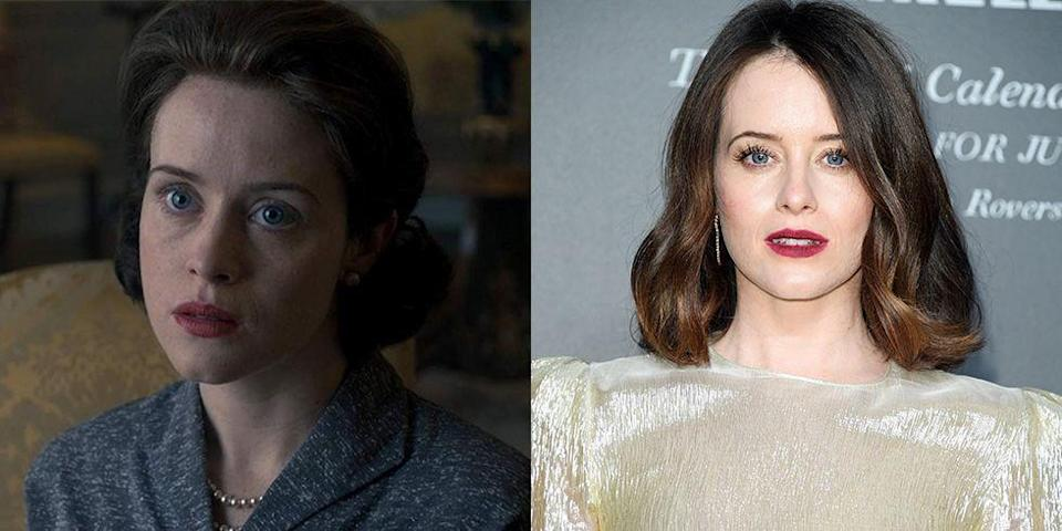 <p>Claire Foy tackled the role of the British monarch in the first two seasons of <em>The Crown</em>. But we're reminded that she's a whole other person when she steps onto the red carpet. </p>