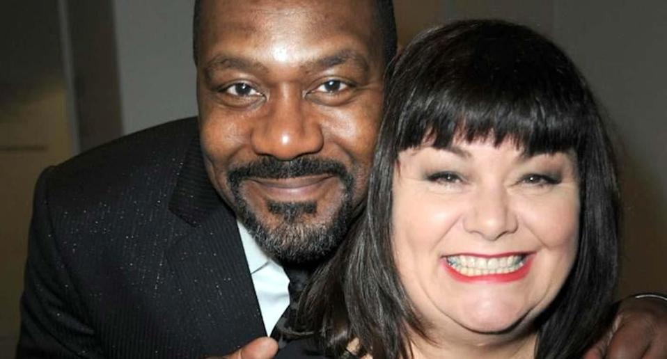 Dawn French has recalled suffering horrific racial abuse when she was married to Lenny Henry