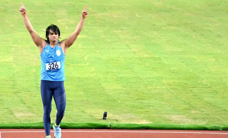 Neeraj Chopra is one of the biggest superstars in Indian athletics. Twitter @g_rajaraman