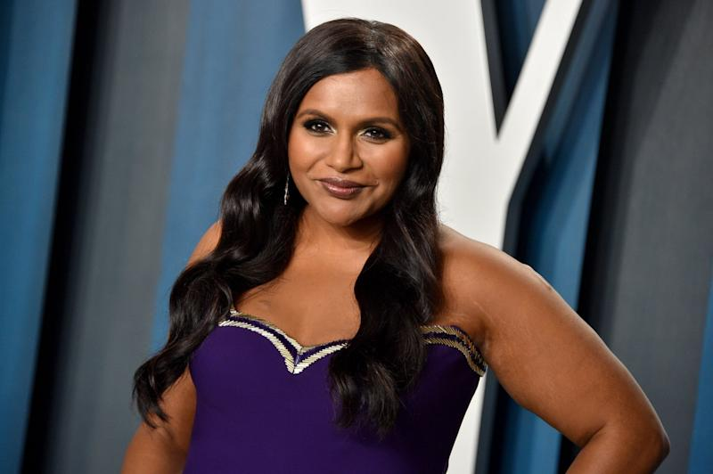 BEVERLY HILLS, CALIFORNIA - FEBRUARY 09: Mindy Kaling attends the 2020 Vanity Fair Oscar Party hosted by Radhika Jones at Wallis Annenberg Center for the Performing Arts on February 09, 2020 in Beverly Hills, California. (Photo by Gregg DeGuire/FilmMagic)