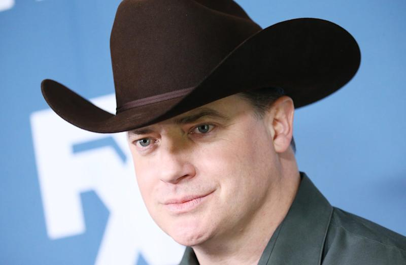 FYI  Brendan Fraser is probably going to wear a cowboy hat in his new FX  show 56860cf7ed8