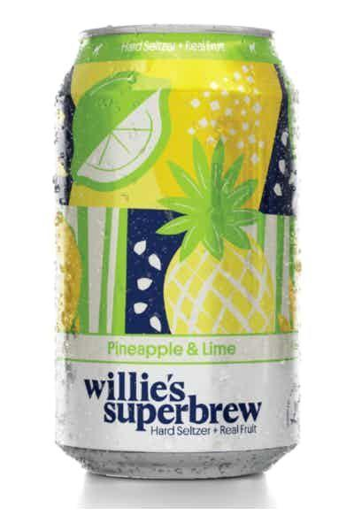 """<p><strong>Willie's Superbrew</strong></p><p>drizly.com</p><p><strong>$11.96</strong></p><p><a href=""""https://go.redirectingat.com?id=74968X1596630&url=https%3A%2F%2Fdrizly.com%2Fbeer%2Fspecialty-beer-alternatives%2Fhard-seltzer%2Fwillies-superbrew-sparkling-pineapple-and-lime%2Fp103224&sref=https%3A%2F%2Fwww.delish.com%2Fkitchen-tools%2Fcookware-reviews%2Fg33263238%2Fhard-seltzers%2F"""" rel=""""nofollow noopener"""" target=""""_blank"""" data-ylk=""""slk:BUY NOW"""" class=""""link rapid-noclick-resp"""">BUY NOW</a></p><p>If you've ever had a syrupy, artificial-tasting, pineapple-flavored seltzer, you may have wondered whether or not the makers of the drink ever tried pineapple in its original form. This is not the case with Willie's. The pineapple taste is fresh and real, and its sweetness is offset by just a dash of sour lime.</p>"""