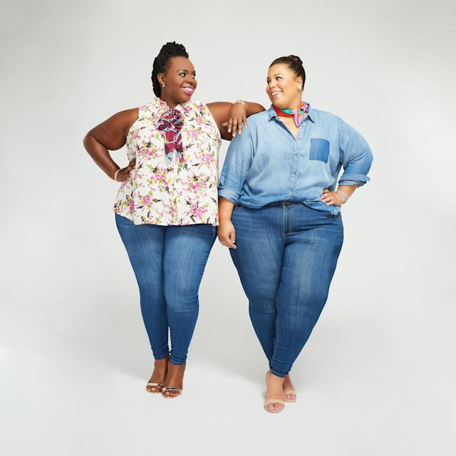 Chastity Garner and CeCe Olisa, co-founders of theCURVYcon. (Photo: Dia&Co.)
