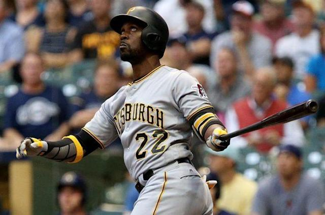 "<a class=""link rapid-noclick-resp"" href=""/mlb/players/7977/"" data-ylk=""slk:Andrew McCutchen"">Andrew McCutchen</a> did a lot of reflection in the offseason. And a lot of Googling. (AP)"