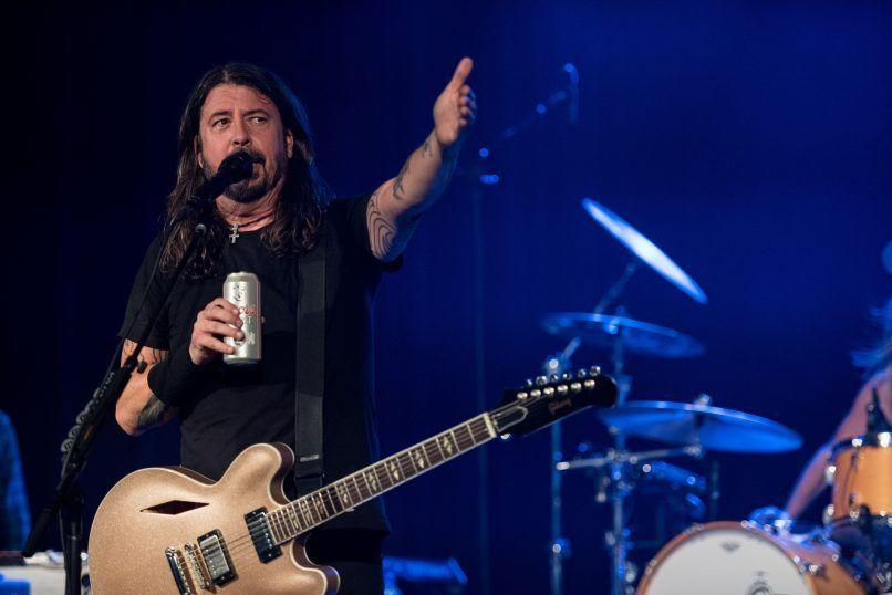 Dave Grohl, Photo by Andrew Stuart