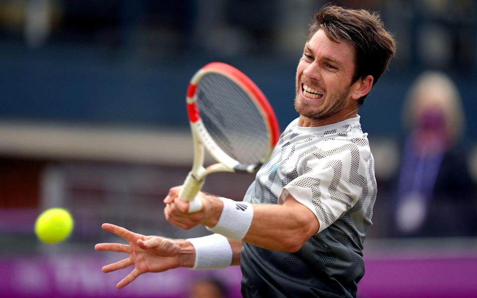 Cameron Norrie's performances at Queen's helped earn him a seeding - PA