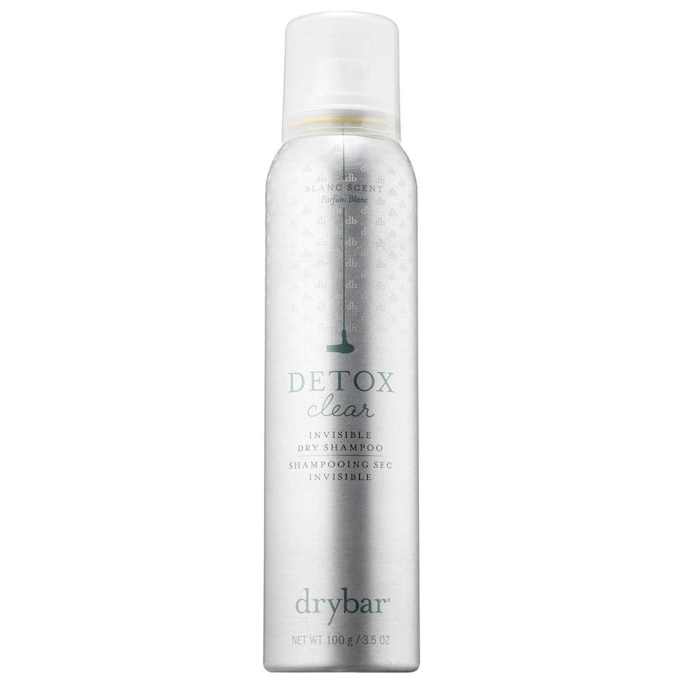 "<p>""The <span>Drybar Detox Clear Invisible Dry Shampoo</span> ($23) somehow makes my sweaty, third-day hair look freshly washed with just a few spritzes. I use it post-morning workout and pre-commute into work by pressing down on its spray dispenser and targeting my slick roots. I massage the clear liquid into the area for faster absorption, throw it into my bag, and head into the office. The best part is it never, ever leaves a white residue."" - Jesa Marie Calaor, former assistant editor, Beauty</p>"
