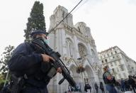 Knife attack in French city of Nice