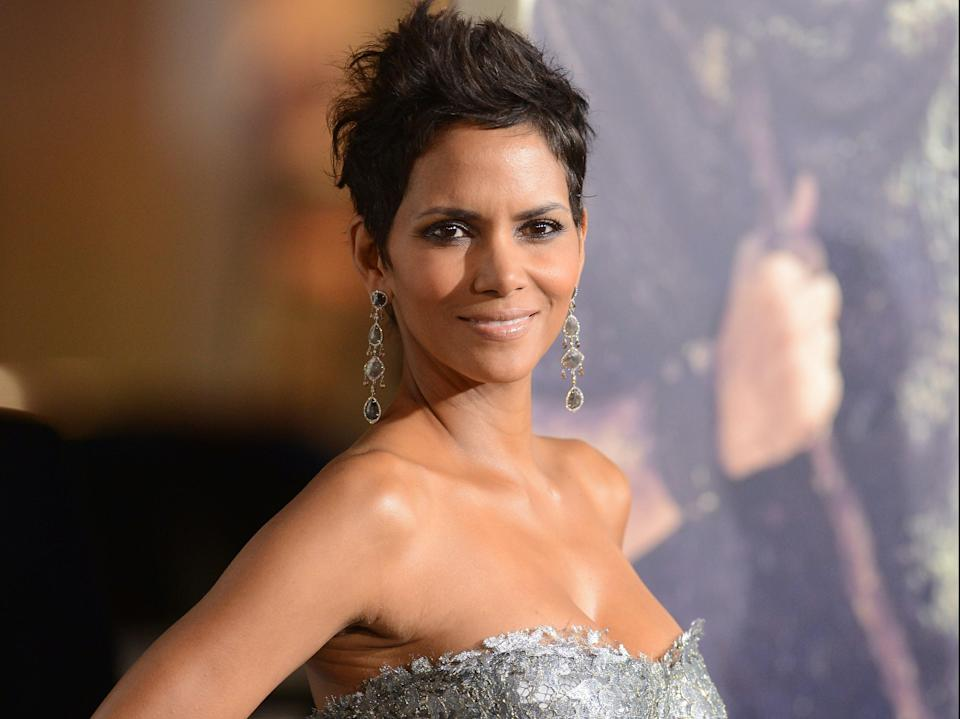 Halle Berry at the Oscars in 2012Getty Images