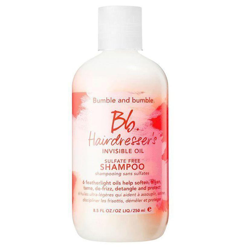 """<p><strong>Bumble and Bumble</strong></p><p>sephora.com</p><p><strong>$31.00</strong></p><p><a href=""""https://go.redirectingat.com?id=74968X1596630&url=https%3A%2F%2Fwww.sephora.com%2Fproduct%2Fhairdresser-s-invisible-oil-shampoo-P386463&sref=https%3A%2F%2Fwww.esquire.com%2Fstyle%2Fgrooming%2Fg19504376%2Fbest-shampoos-men%2F"""" rel=""""nofollow noopener"""" target=""""_blank"""" data-ylk=""""slk:Buy"""" class=""""link rapid-noclick-resp"""">Buy</a></p><p>If your hair tends to gets tangled or knotted throughout the day, Bumble's invisible oil shampoo promotes smoothness. If you're a dude with longer hair, that means you don't have to constantly be on high alert. </p>"""