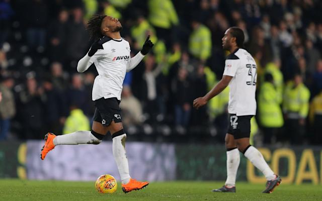 Derby County 2 Leeds United 2: Kasey Palmer strikes at the death to deny Paul Heckingbottom a first win