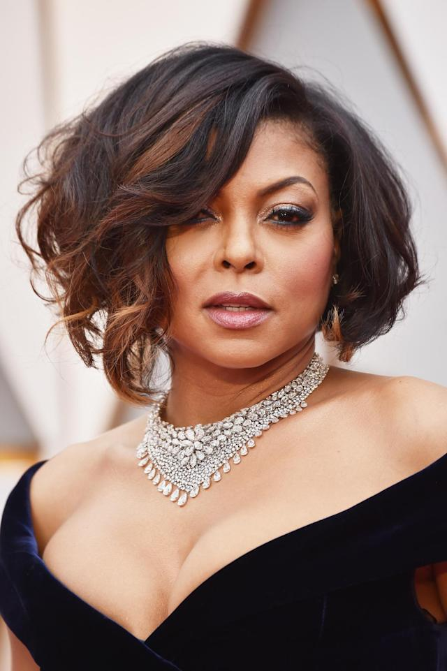 <p>Taraji P. Henson at the 89th Annual Academy Awards in Hollywood, Calif. (Photo: Frazer Harrison/Getty Images) </p>