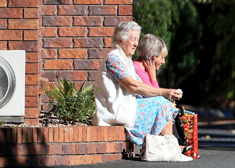 Residents from the retirement home are being removed from the facility which has reportedly gone into administration. Source: AAP / Tim Marsden