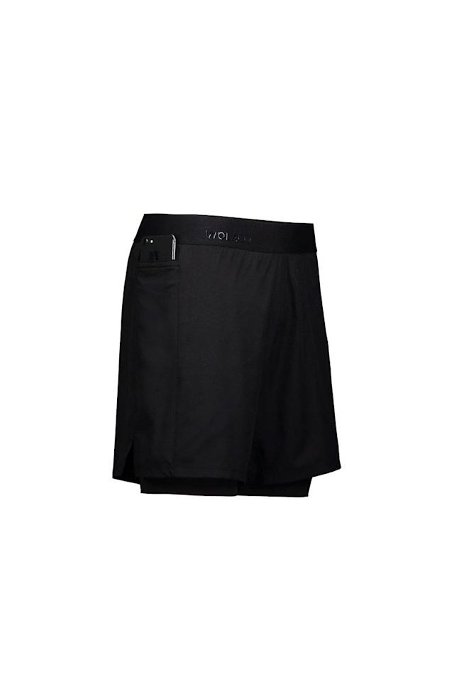 "<p>The first 2-in-1 style from young athletic brand Wolaco, these compression shorts were inspired by the streets of NYC, and feature a stretch, infinity waistband and sweat-proof interior and pocket for a stylish wear that works as hard as you do.</p><p><em>Wolaco Grand Short, $88</em></p><p><em></em><a class=""body-btn-link"" href=""https://www.wolaco.com/collections/mens-bottoms/products/mens-grand-short-2-in-1"" target=""_blank"">SHOP</a></p>"