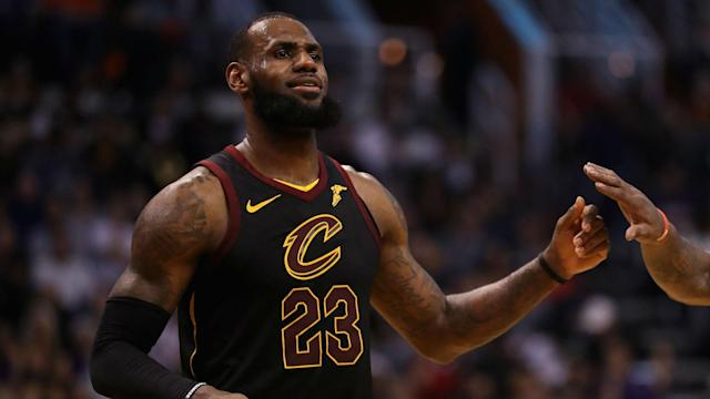The Cleveland Cavaliers suffered a loss in the NBA, even with LeBron James delivering an incredible dunk.