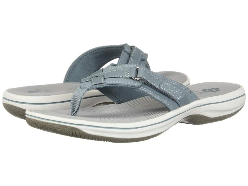 Clarks Breeze Sea Flip-flops. (Photo: Zappos)