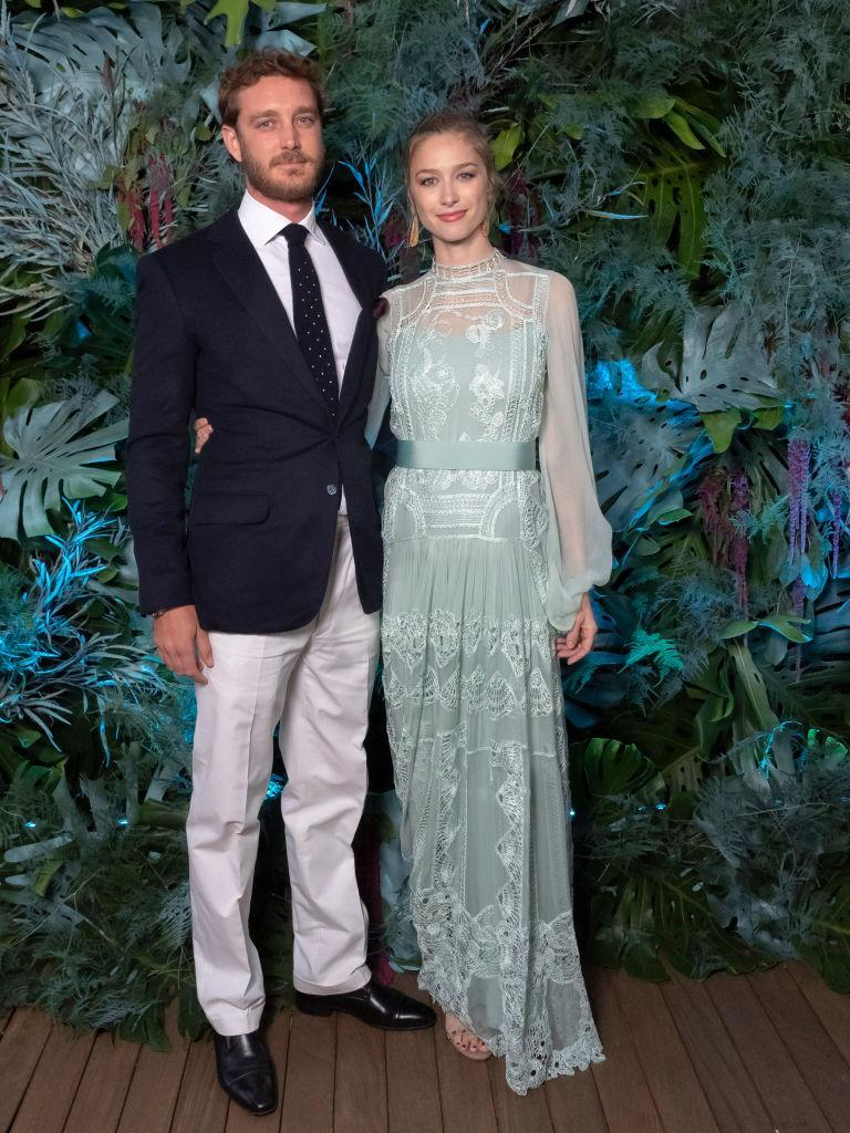 Pictured at the Alberta Ferretti Cruise 2020 Collection photocall. (Getty Images)