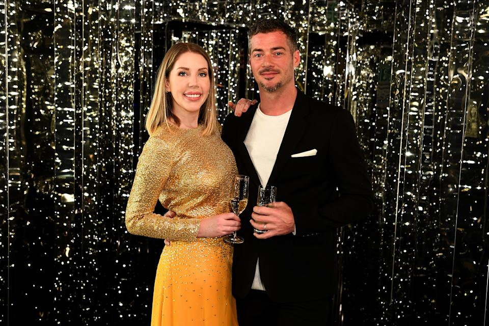 Katherine Ryan and Bobby Kootstra have welcomed their first child together. (Photo by Jeff Spicer/Getty Images for Virgin Voyages)