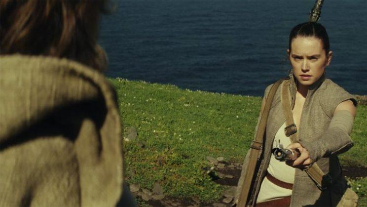 Daisy Ridley as Rey in 'Star Wars: The Force Awakens' (Photo: YouTube Star Wars/Screengrab)