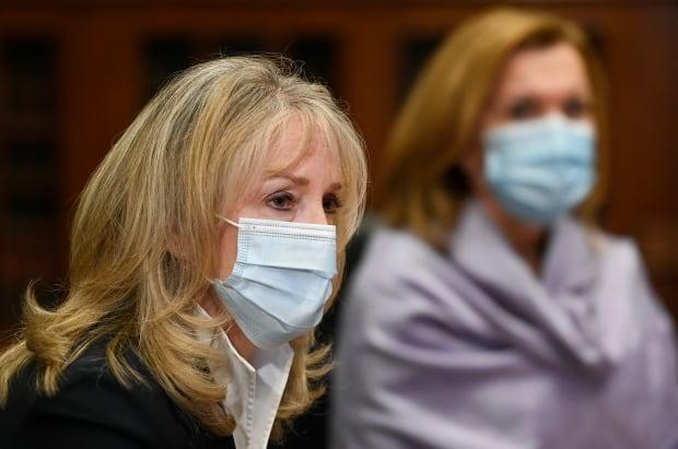 Ontario Health and Long-Term Care Minister Merrilee Fullerton says nursing home staff were the first to be offered shots again COVID-19, so might had had 'vaccine hesitancy,' but homes are being revisited to see if more staff will want to be vaccinated.
