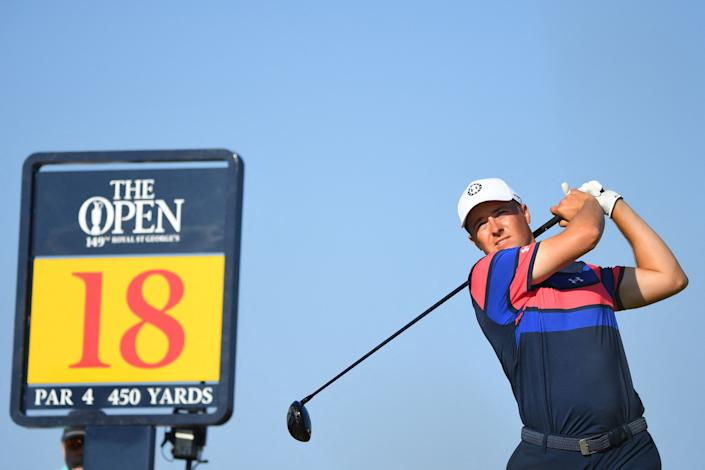The 18th hole victimized Jordan Spieth at the Open Championship. (Andy Buchanan/Getty Images)