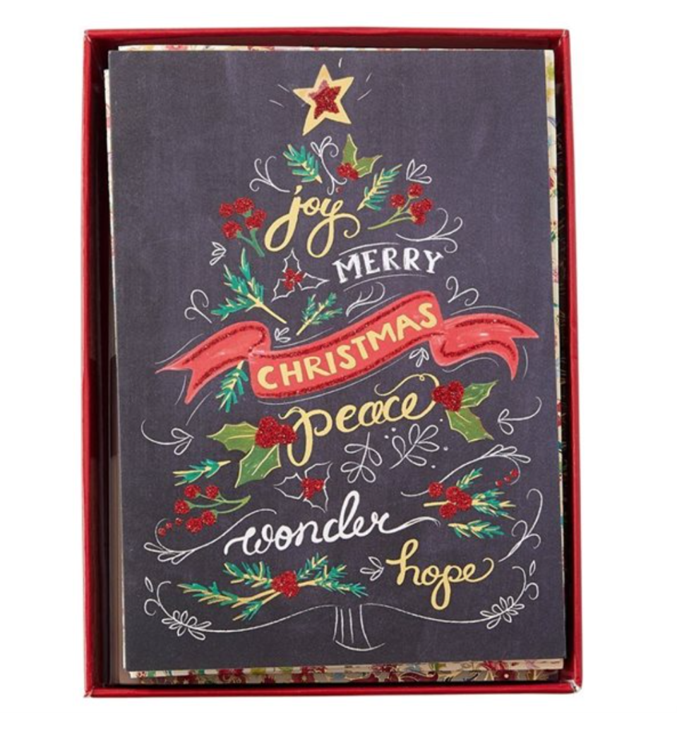 Indigo offers box-sets of holiday cards you can order online.