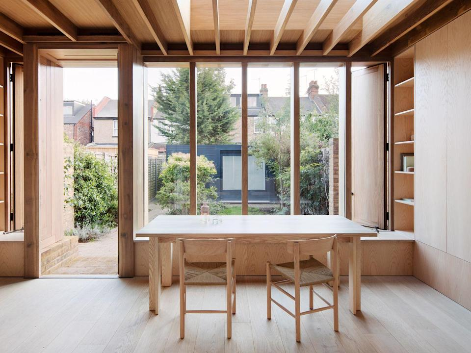 """<p>Jody O'Sullivan and Amalia Skoufoglou are masters when it comes to inserting highly crafted architectural joinery into London's terraced houses. Projects like Dewsbury Road (pictured) and Grove Park show off the breadth of their talents.</p><p><strong>They say </strong>'We strive to make buildings with integrity, which respond to the place they are sited and are tectonic in their expression.' <a href=""""https://www.osullivanskoufoglou.com/"""" rel=""""nofollow noopener"""" target=""""_blank"""" data-ylk=""""slk:osullivanskoufoglou.com"""" class=""""link rapid-noclick-resp"""">osullivanskoufoglou.com</a></p>"""