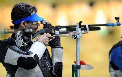 "Abhinav Bindra said there was ""a lot of noise"" during his session, admitting: ""it didn't go well"""