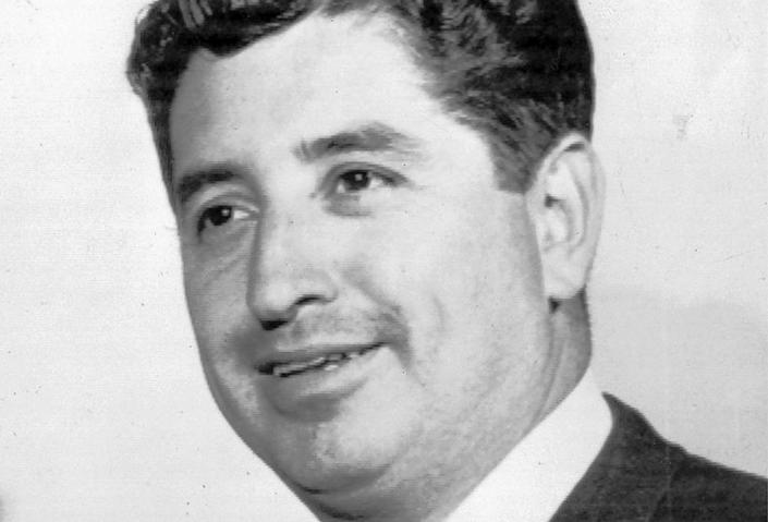 This 1963 photo shows Mexican-American journalist Ruben Salazar, at the time a Los Angeles Times reporter.