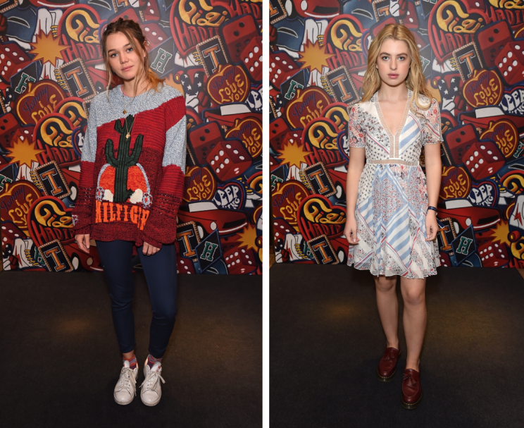 <i>Other young stars appeared including Immy Waterhouse and Anais Gallagher [Photo: Getty]</i>