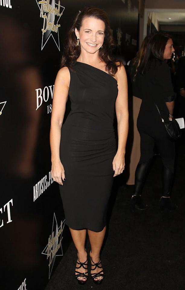 Kristin Davis attends the Hollywood Domino And Bovet 1822 Gala Benefiting Artists For Peace And Justice at Sunset Tower on February 21, 2013 in West Hollywood, California.