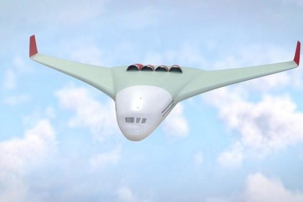 Planes of the future could drop passengers off 'at their door'