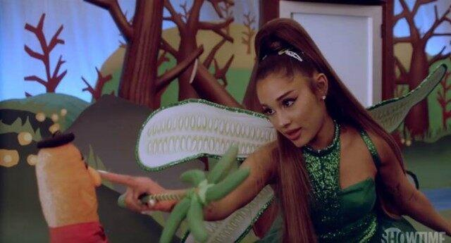 Ariana Grande returns to acting roots in