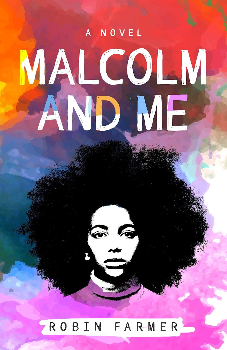 <p><span><b>Malcom and Me</b></span> by Robin Farmer is an evocative coming of age story set against the backdrop of the Watergate era. When 13-year-old Roberta is told she's ineligible to compete in an essay contest at school, she responds with an outrage that speaks both to her frustration surrounding her parents' crumbling marriage and her growing interest in activism in this novel about the messy process of growing up. </p> <p><em>Out Nov. 17</em></p>