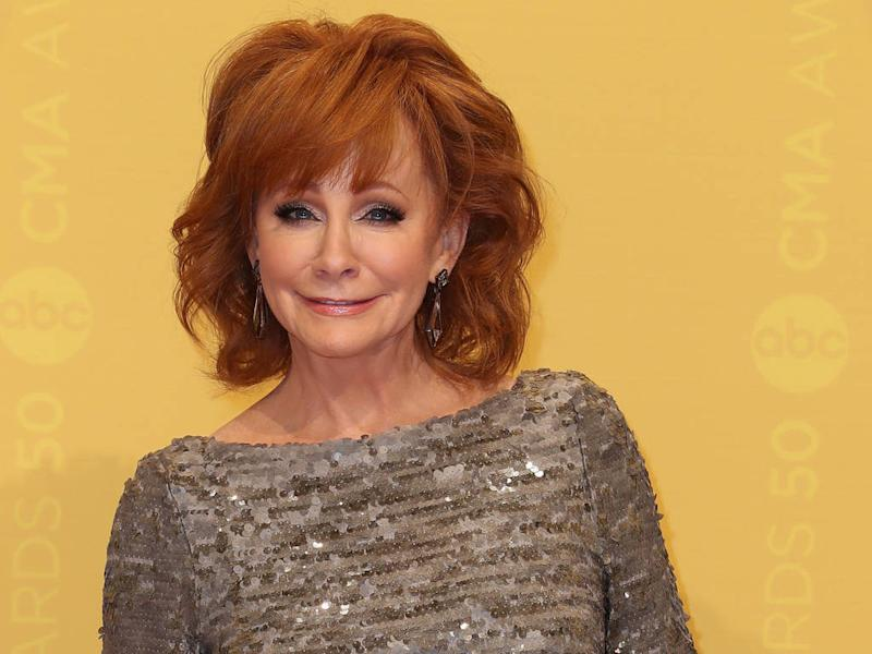 6b60c756f79 Reba McEntire suffers from stage fright for new outfit debuts