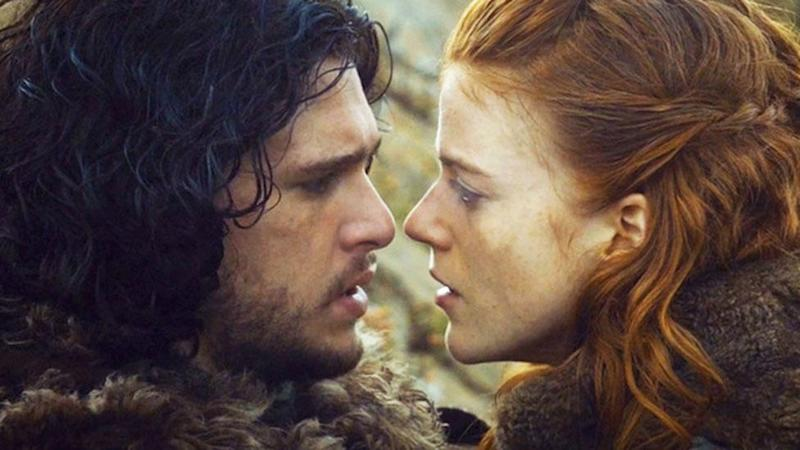 Kit Harington and Rose Leslie's offical engagement announcement is wonderful