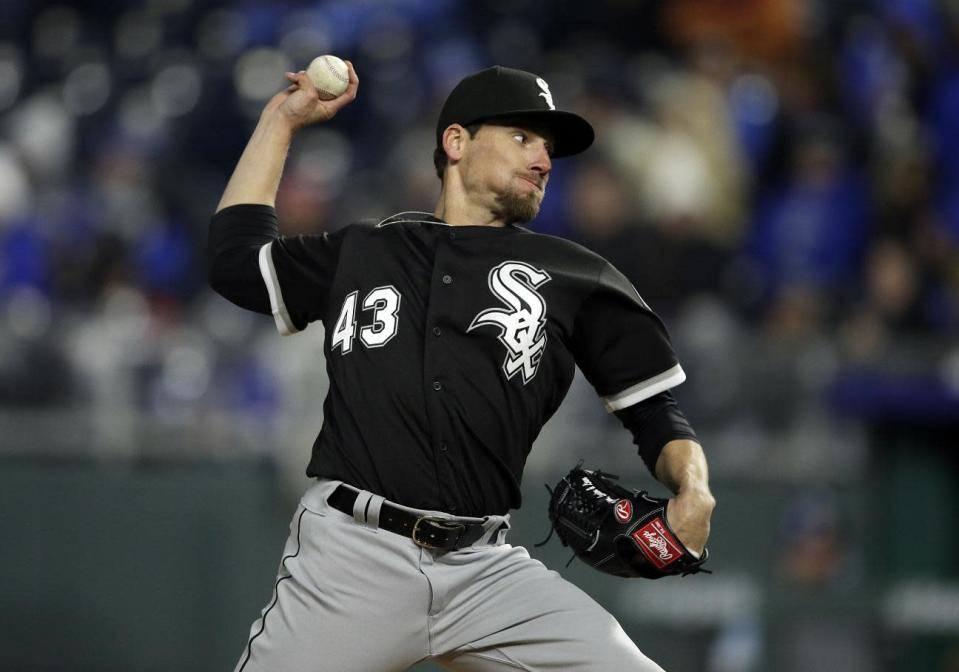 White Sox reliever Danny Farquhar is in critical but stable condition after suffering a brain hemorrhage during Friday's game. (AP)