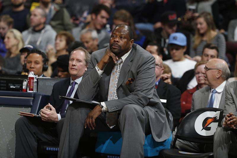 Patrick Ewing won a national title playing for the Hoyas in 1984. (AP)