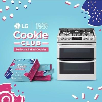 LG Electronics USA, the most-awarded kitchen appliance brand, and BuzzFeed's Tasty, the world's largest social food network, have teamed up to make it easier than ever to bake the perfect cookie with Tasty's first-ever food-based subscription box featuring recipes designed to be baked best in LG ovens and ranges featuring the brand's exclusive ProBake Convection® technology.