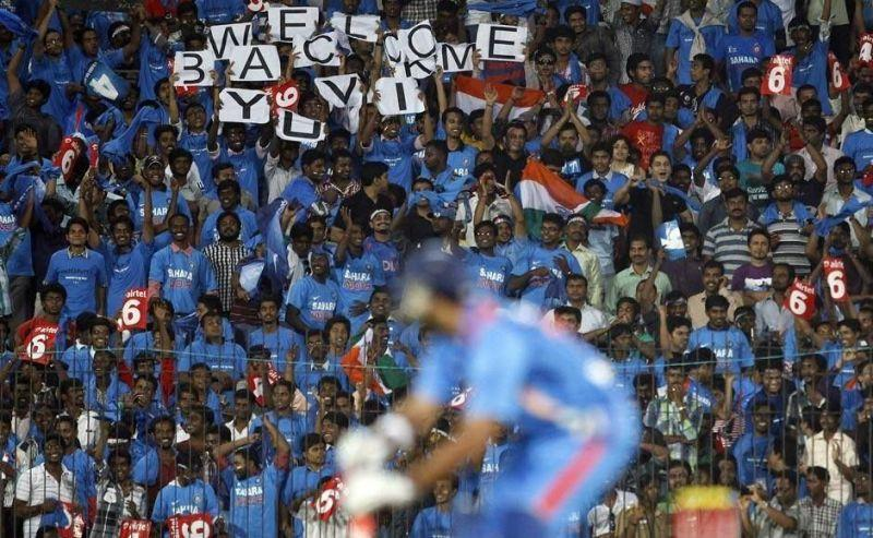 Yuvraj Singh returned to cricket after successfully defeating cancer