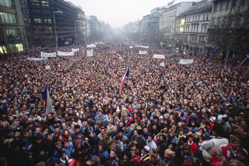 Czechoslovakia's Velvet Revolution Started 30 Years Ago—But It Was Decades in the Making