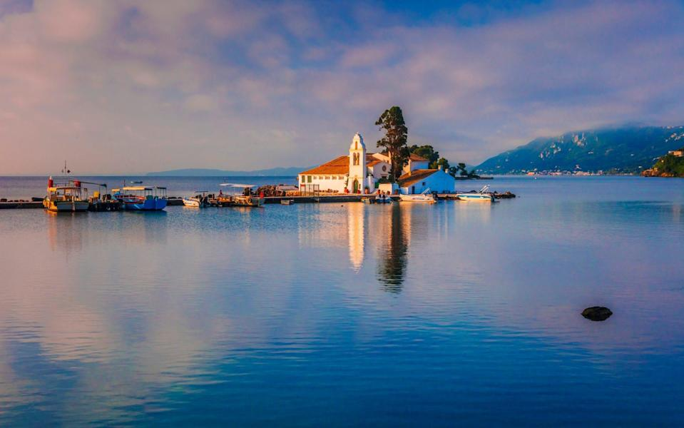 Corfu and the rest of the Ionian islands are popular with visitors from the UK - Slow Images